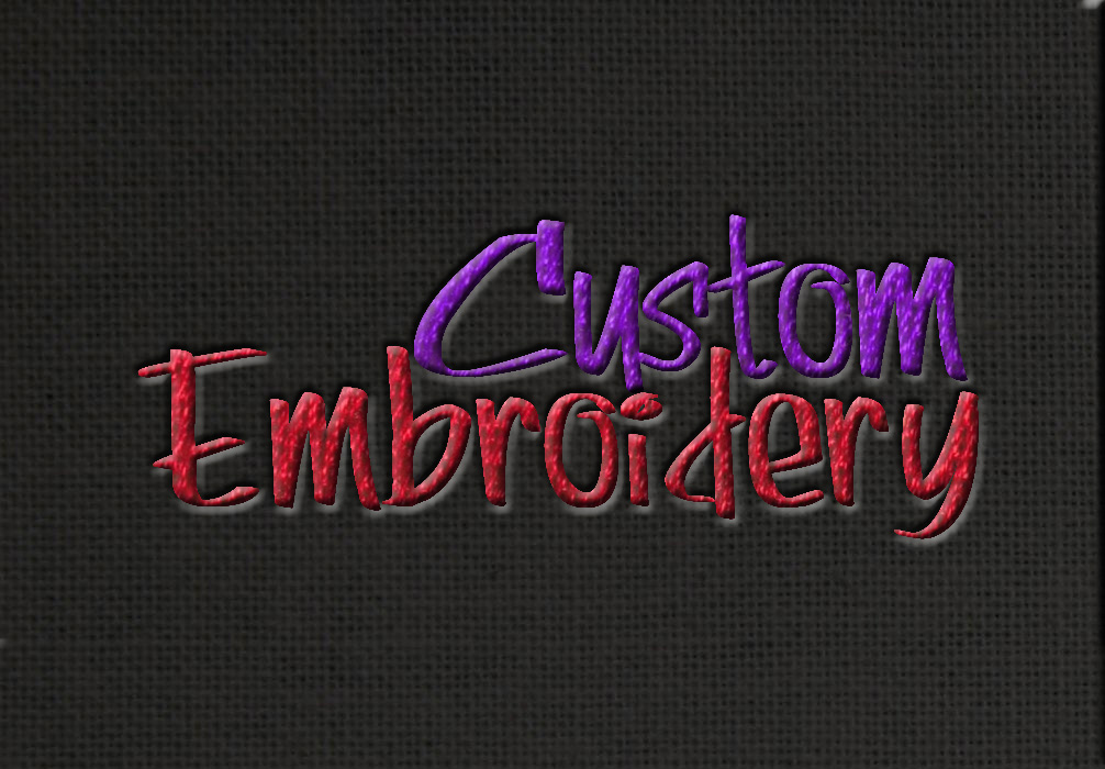 Embroidery | Team Minard Productions